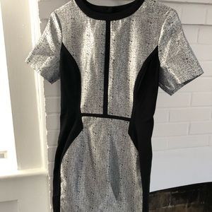 ASOS size 6 silver backless mini dress